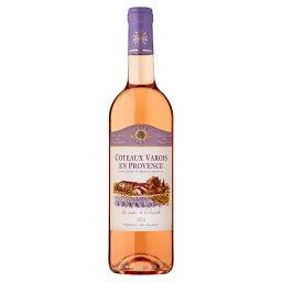 Coteaux Varois en Provence Wino różowe wytrawne francuskie