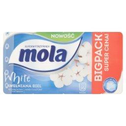 White Bawełniana Biel Papier toaletowy 16 rolek