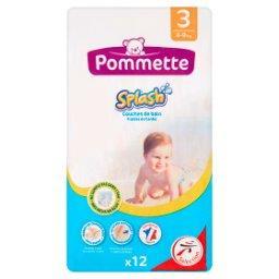 Jednorazowe pieluszki do pływania dla dzieci rozmiar 3 4-9 kg 12 sztuk