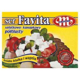 Favita Ser sałatkowo-kanapkowy półtłusty