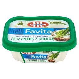 Favita Serek kanapkowy typu greckiego szczypiorek z cebulką