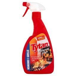 Aktywny płyn do czyszczenia szyb kominkowych i grilli