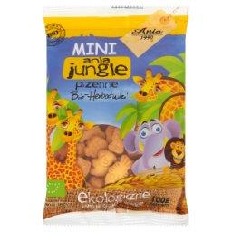 Mini ania jungle pszenne Bio herbatniki Ekologiczne płatki śniadaniowe