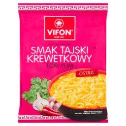 Tom Yum Zupa błyskawiczna smak tajski krewetkowy
