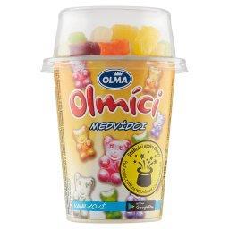 Olmici Jogurt czekoladowy-waniliowy z żelkami 125g mix