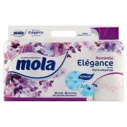 Elégance Kwiat Wiśni Papier toaletowy 8 rolek