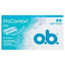 ProComfort Light Days Tampony 16 sztuk