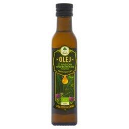 Ekologiczny olej z nasion ostropestu plamistego tłoczony na zimno