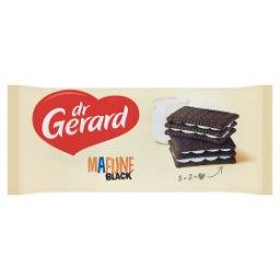 Mafijne Black Herbatniki kakaowe z kremem o smaku śm...
