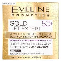 GOLD LIFT EXPERT Luksusowy multi-odżywczy krem-serum...