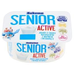 Senior Active Jogurt o smaku naturalnym z wapniem i witaminą D