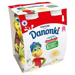 Danonki Jogurt banan 400 g (4 sztuki)
