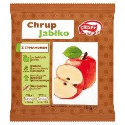 Suszone chipsy z jabłka z cynamonem