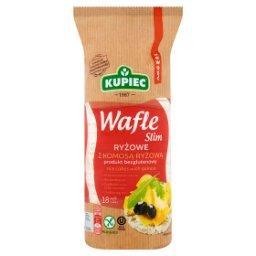 Slim Wafle ryżowe z komosą ryżową  (18 sztuk)