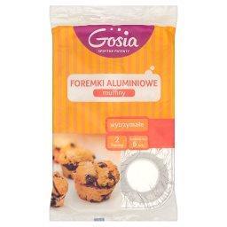 Muffiny Foremki aluminiowe 2 formy