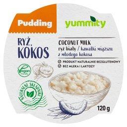 Bezglutenowy pudding ryżowy z kokosem