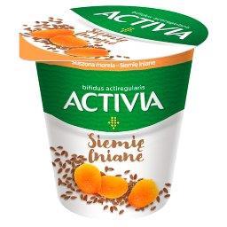 Activia Jogurt suszona morela siemię lniane
