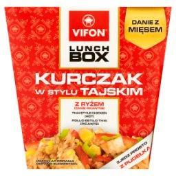 Lunch Box Danie błyskawiczne kurczak w stylu tajskim