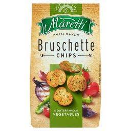 Pieczone krążki chlebowe o smaku mieszanki warzyw śródziemnomorskich
