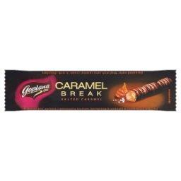 Caramel Break Wafelek nadziewany kremem karmelowym solonym w czekoladzie