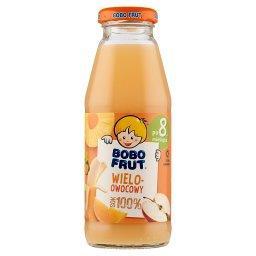 100% sok wieloowocowy po 8 miesiącu