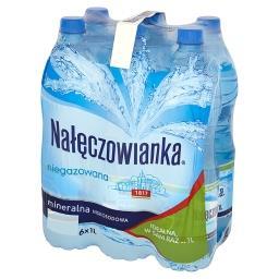 Naturalna woda mineralna niegazowana 6 x 1 l