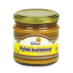 Miód z pyłkiem 250 g