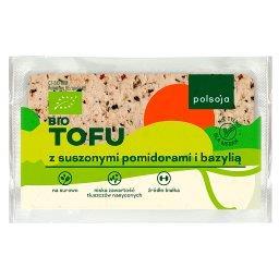 Bio tofu z suszonymi pomidorami i bazylią