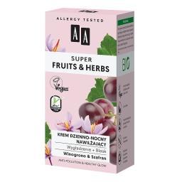 Super Fruits&Herbs krem dzienno-nocny nawilżający wygładzenie + blask 50 ml