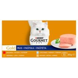 Gold Karma dla kotów kolekcja musów z wołowiną 680 g