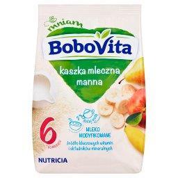 Kaszka mleczna manna 3 owoce po 6 miesiącu