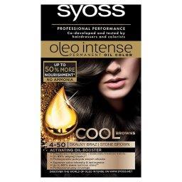 Oleo Intense Farba do włosów Skalny brąz 4-50