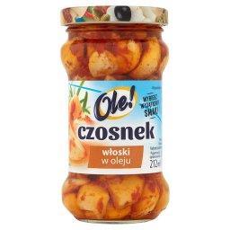 Czosnek włoski w oleju