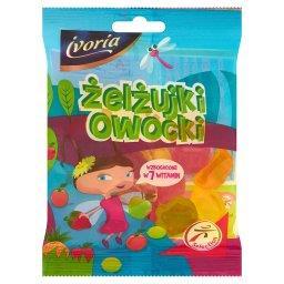 Żelżujki Owocki Cukierki żelowe o smaku owocowym wzb...