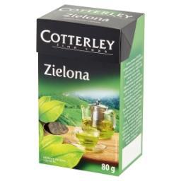 Herbata zielona liściasta