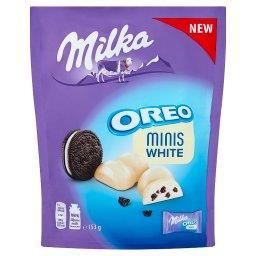 Minis White Biała czekolada Oreo  (10 sztuk)