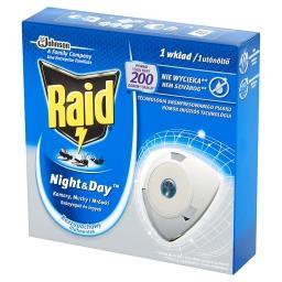 Night & Day Komary muchy i mrówki Wkład do elektrofumigatora owadobójczego
