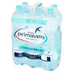 Woda źródlana lekko gazowana 6 x 1,5 l