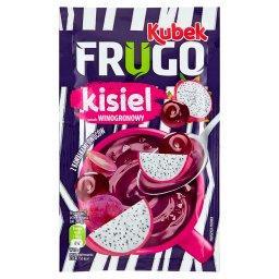 Kubek Frugo Kisiel z kawałkami owoców smak winogrono...