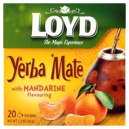 Yerba Mate Herbata aromatyzowana o smaku mandarynki 34 g (20 torebek)