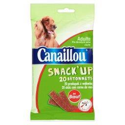 Snack' Up Przekąski z wołowiną Uzupełniająca karma dla dorosłych psów