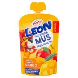 Leon Mus owocowy jabłko banan mango 100 g