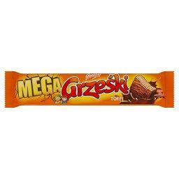 Mega Wafel przekładany kremem o smaku toffi w czekoladzie mlecznej