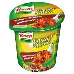 Gorący Kubek Makaron z sosem gulaszowym
