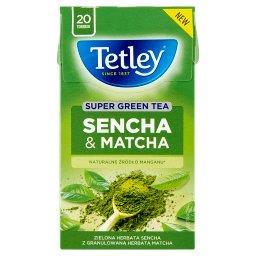 Super Green Tea Sencha & Matcha Zielona herbata 42 g (20 x )