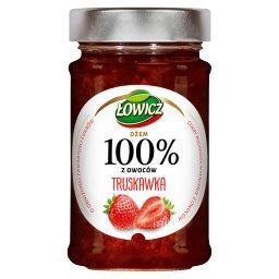 Dżem 100% z owoców truskawka