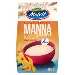 Błyskawiczna kasza manna o smaku waniliowym