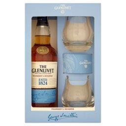 Founder's Reserve Szkocka whisky single malt  i 2 szklanki