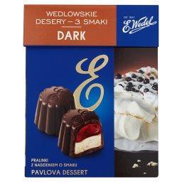 Wedlowskie desery 3 smaki Dark Pralinki z nadzieniem