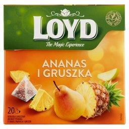 Herbatka owocowa aromatyzowana o smaku ananasa i gru...